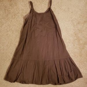 Girls summer sundress size 5T Old Navy brown